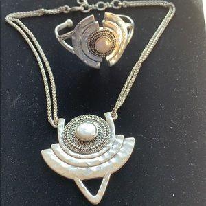 Lucky Brand 🍀bracelet and necklace